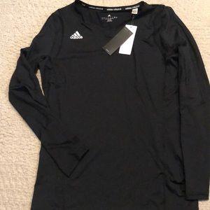 Adidas ladies shirt climalite size L